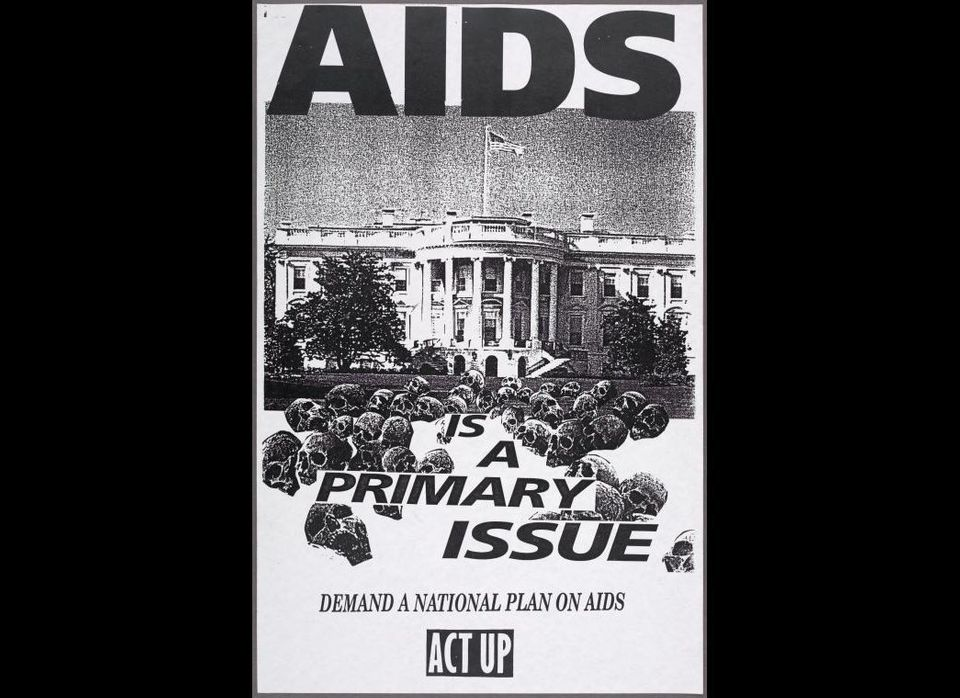 "<a href=""http://digitalgallery.nypl.org/nypldigital/id?1577292"" target=""_hplink"">AIDS is a primary issue. Demand a national p"