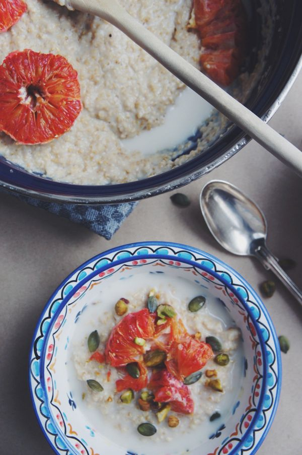 """<strong>Get the <a href=""""http://thymeandhoney.co.uk/2014/01/25/roasted-blood-orange-oatmeal/"""" target=""""_blank"""">Roasted Blood O"""