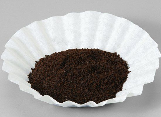 Use used coffee grinds as a hand scrub or a cleaning scrub for greasy surfaces. You can also use the grinds to deodorize your