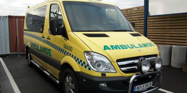 Norwegian Ambulance, Vestfold 06430, Mercedes Benz, brand new!