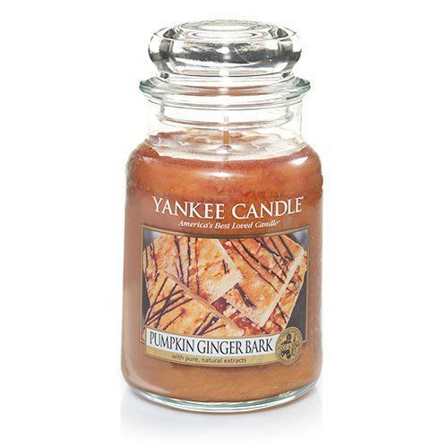 """<strong> Score: 4 (Tie)</strong><br><br><strong>What the <a href=""""http://www.amazon.com/Pumpkin-Ginger-Bark-Large-Candle/dp/B"""