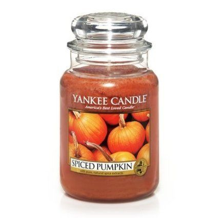 """<strong>Score: 4.3 (Tie)</strong><br><br><strong>What the<a href=""""http://www.amazon.com/Yankee-Candle-22-Ounce-Spiced-Pumpkin"""
