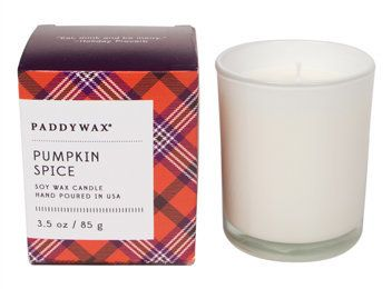 """<strong> Score: 2.7 </strong><br><br><strong>What the <a href=""""http://www.paddywax.com/Shop/Happy-NEW/Pumpkin-Spice-Little-Ha"""