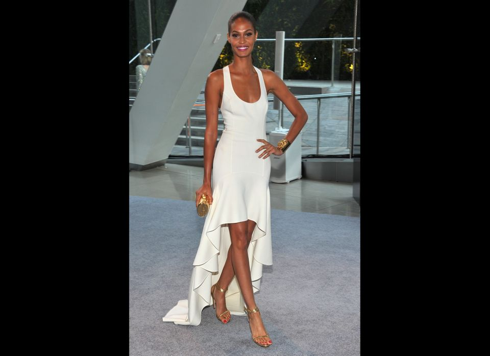 NEW YORK, NY - JUNE 04: Model Joan Smalls  attends the 2012 CFDA Fashion Awards at Alice Tully Hall on June 4, 2012 in New Yo