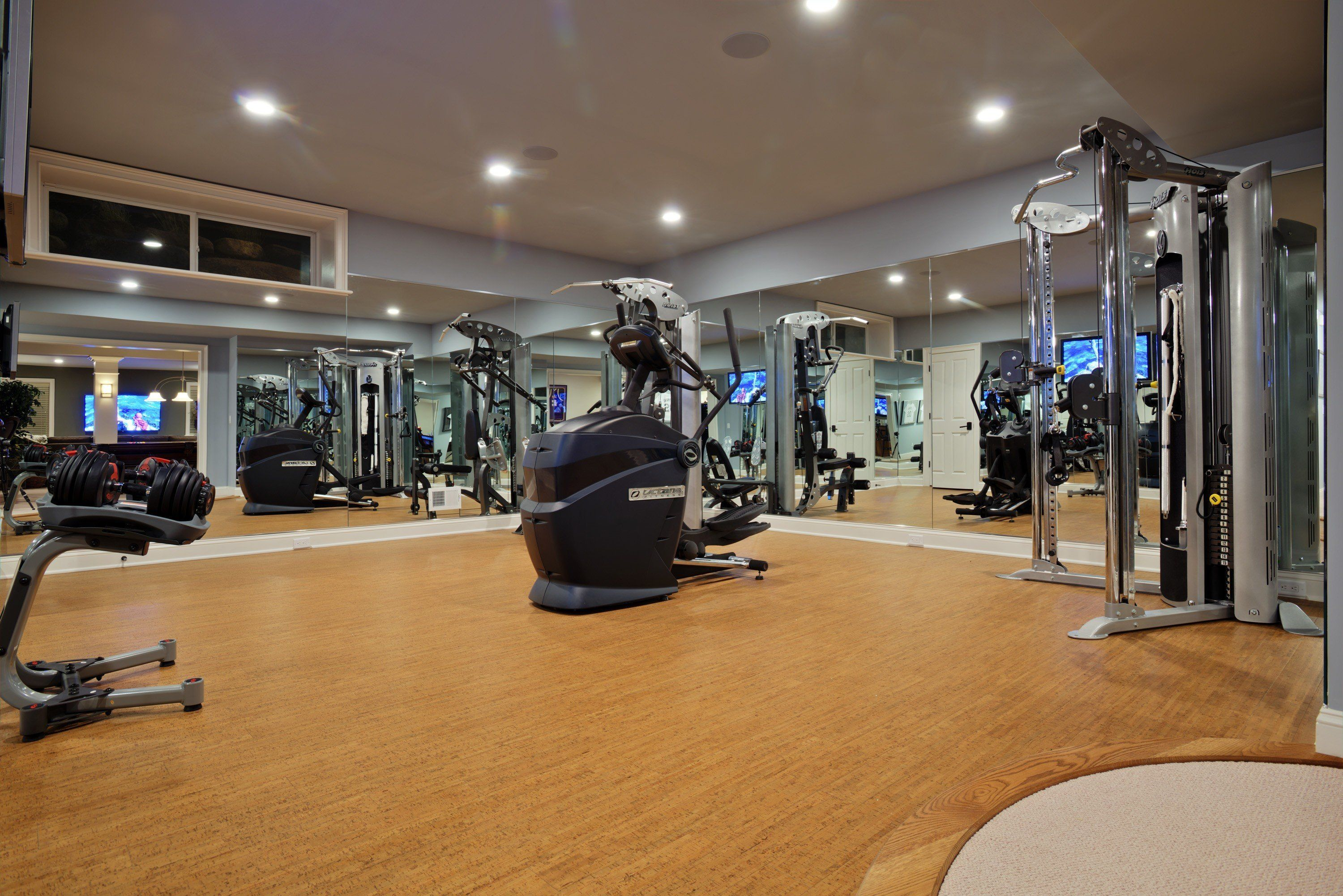 Impressive home gyms that offer the ultimate personal fitness