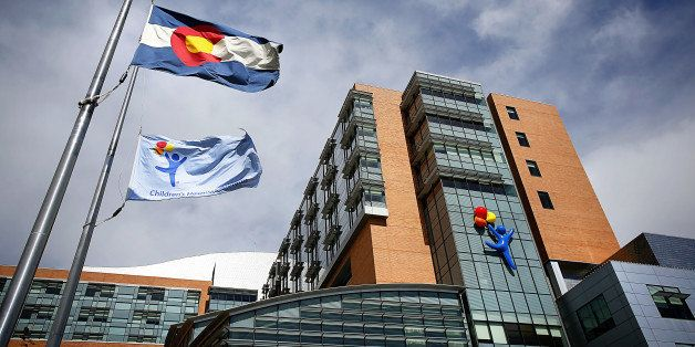AURORA, CO - SEPTEMBER 30: The Children's Hospital Colorado, which has seen 10 patients with respiratory enterovirus EV-D68 after an outbreak in the state, is seen on September 30, 2014 in Aurora, Colorado. Enterovirus 68 is similar to the common cold, but symptoms can be more serious, according to the U.S. Centers for Disease Control and Prevention, causing wheezing and in some instances, neurological symptoms and temporary paralysis. (Photo by Marc Piscotty/Getty Images)