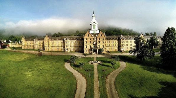 "This <a href=""http://trans-alleghenylunaticasylum.com/"" target=""_blank"">former mental institution</a> has been turned into a"