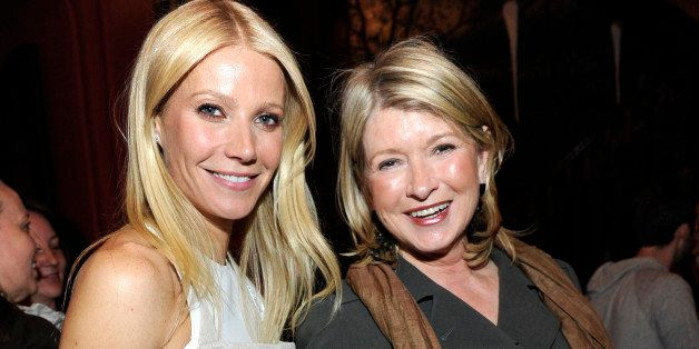 NEW YORK, NY - APRIL 11:  (Exclusive Coverage) Gwyneth Paltrow and Martha Stewart attend the celebration of 'My Father's Daughter' on April 11, 2011 in New York City.  (Photo by Kevin Mazur/WireImage)