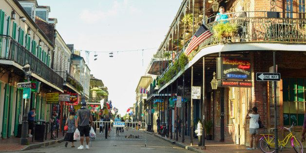 TOP CHEF -- Season 11 -- Pictured: Rue Bourbon in The French Quarter in New Orleans, Louisiana in June 2013 -- (Photo by: Justin Stephens/Bravo)