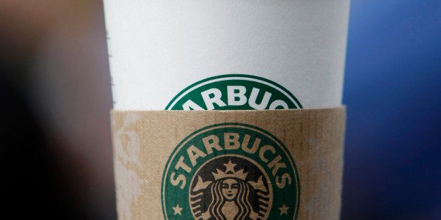 In this Monday, Jan. 24, 2011 photo, is a Starbucks drink in Coral Gables, Fla. (AP Photo/Lynne Sladky)