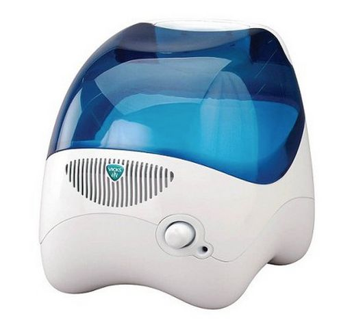 For a humidifier that's easy on the eyes and the wallet, try <strong>Vicks Cool Moisture Humidifier</strong>. The device can