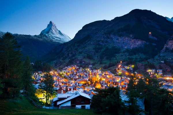 It's a famous mountain resort town and it will celebrate the 150th anniversary of Edward Whymper's ascent of the Matterhorn.