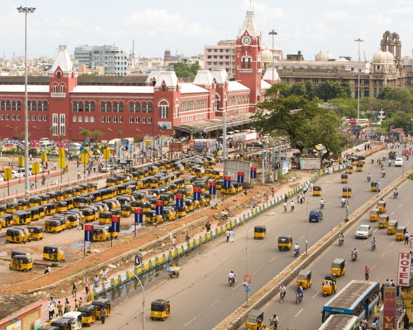 The long-overlooked metropolis will be home to India's first integrated mass transit system come 2015.