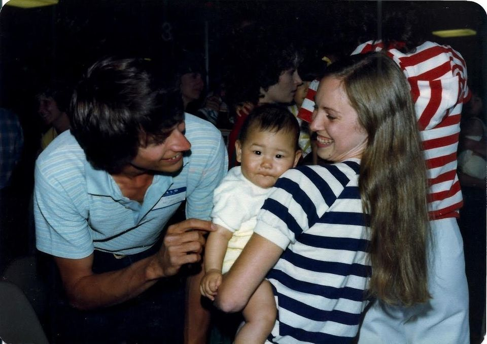 Kevin and Gina Nelson adopted Katie from Korea in the '70s.