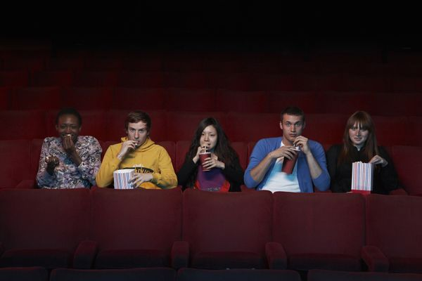 If you're used to chowing down on popcorn in movie theaters, you may be more likely to do so even if the popcorn doesn't tast