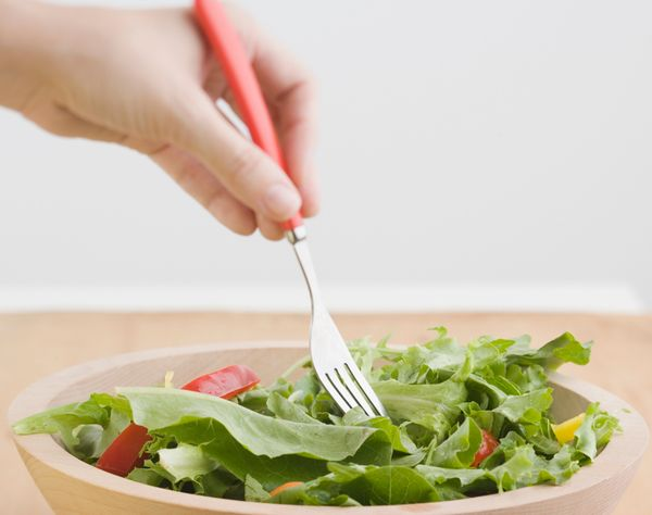Switching to eat with your non-dominant hand could help you eat less, according to research published  in the Personality and