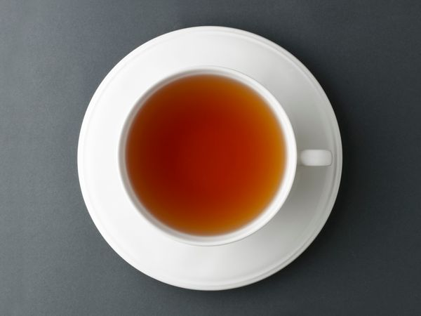 If you enjoy the ritual of sipping something warm in the morning, swap your cup of coffee for tea. The drink still contains c