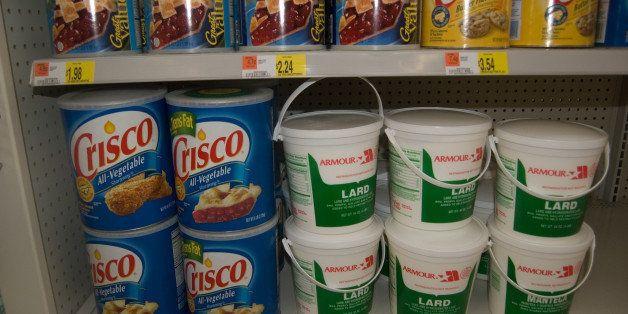 10 lb tub of Crisco. God damn. Taken at WalMart.
