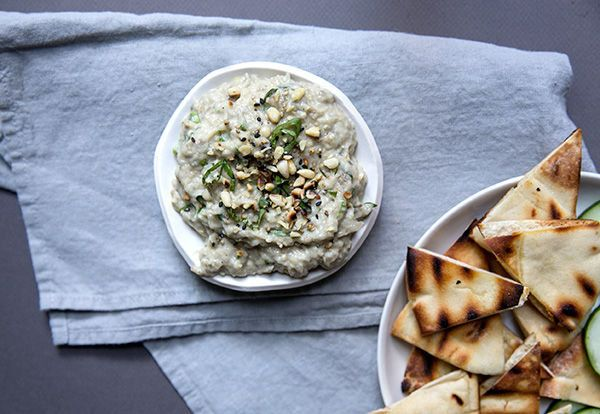"""<strong>Get the <a href=""""http://food52.com/recipes/23800-baba-ganoush"""" target=""""_blank"""">Baba Ganoush recipe</a> from Jodi More"""