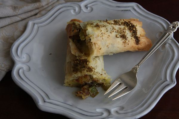 """<strong>Get the <a href=""""http://food52.com/recipes/16576-eureka-burekas-stuffed-with-celery-fennel-and-potato"""" target=""""_blank"""