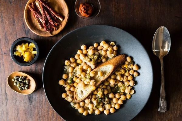 """<strong>Get the <a href=""""http://food52.com/recipes/21033-lablabi-middle-eastern-spicy-chickpea-stew"""" target=""""_blank"""">Lablabi"""