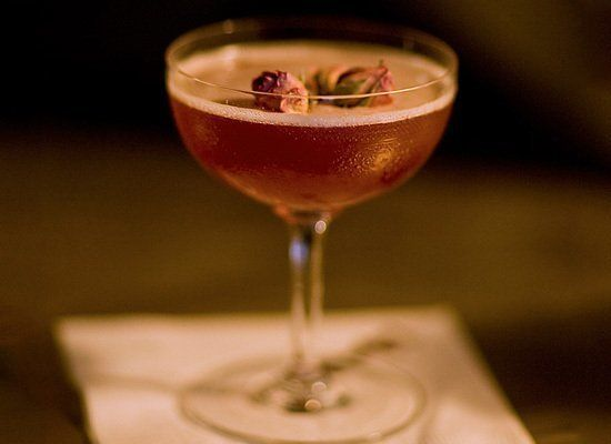 Named after the turn-of-the-century exotic dancer (and possible spy), this extravagant cocktail made at New York's Employees