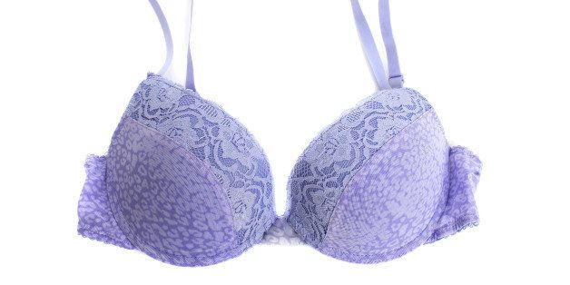 Should men wear a bra if they have any breast growth?