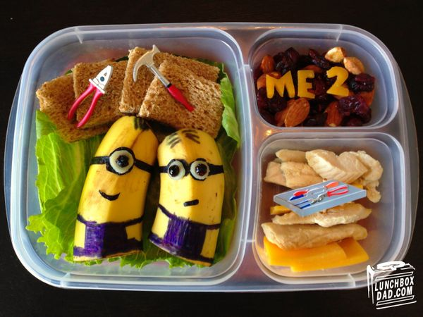 "Beau Coffron cemented his title as ""Lunchbox Dad"" with the <a href=""https://www.huffpost.com/entry/lunchbox-dad-art_n_5037050"