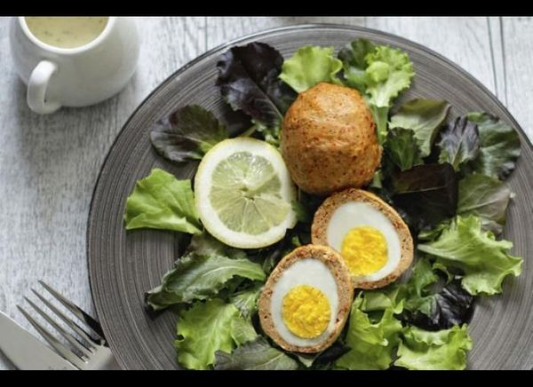 Scotch eggs probably originated in London, despite their name, but no matter where they came from, hard-boiled eggs wrapped i