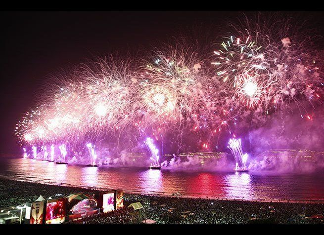 Photo Credit: Leanne Vorrias / Shutterstock  If Rio is best known for its Carnival festivities, its New Year's Eve celebrat