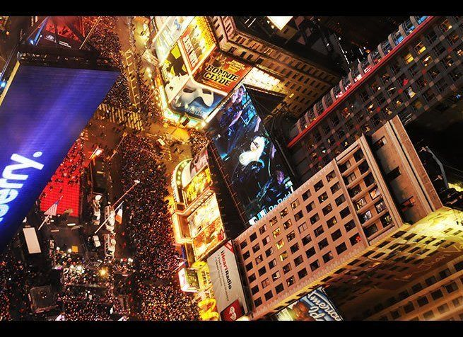 Photo Credit: Melissa Madia / Shutterstock  It may not be for everyone, but there's no denying that New Year's Eve in New Y
