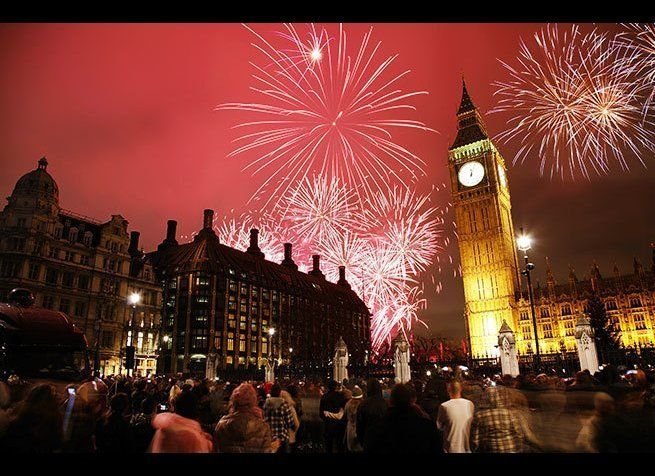 Photo Credit: Bikeworldtravel / Shutterstock  Londoners ring in the New Year as only they can, to the chiming of Big Ben at
