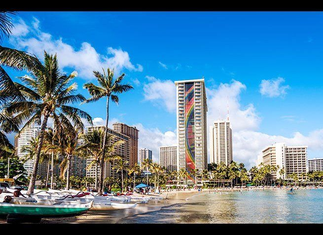 <em>Photo Credit: Jeff Whyte / Shutterstock</em>  This Hawaiian island offers a variety of New Year's Eve activities in a g