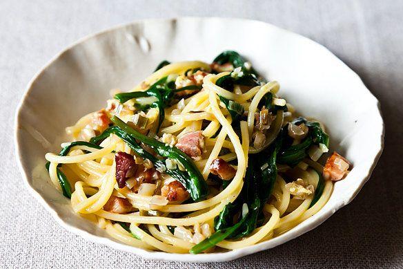 "<strong>Get the <a href=""http://food52.com/recipes/17148-ramp-carbonara"" target=""_blank"">Ramp Carbonara recipe</a> by meganvt"