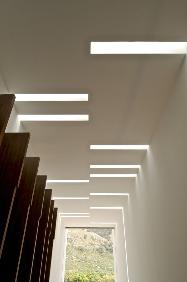 These ceiling cutouts could be seen as artwork in itself.