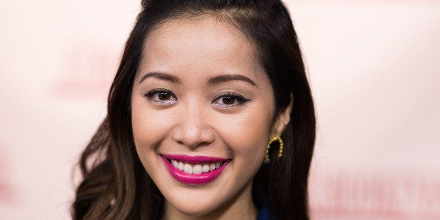 RIDGEWOOD, NJ - OCTOBER 23: Michelle Phan signs copies of her book 'Make Up' at Bookends Bookstore on October 23, 2014 in Ridgewood, New Jersey.  (Photo by Dave Kotinsky/Getty Images)