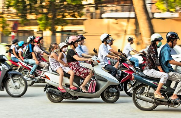 One of the first and more important things to learn when visiting Vietnam is how to cross the street. It may be intuitive at