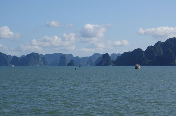 "Speaking of vistas, Halong Bay, the <a href=""http://whc.unesco.org/en/list/672"" target=""_blank"">UNESCO World Heritage Site</a"