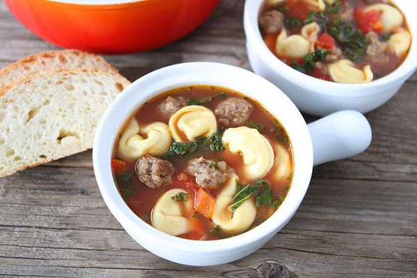 """<strong>Get the <a href=""""http://www.twopeasandtheirpod.com/italian-sausage-tortellini-soup/"""" target=""""_blank"""">Italian Sausage"""