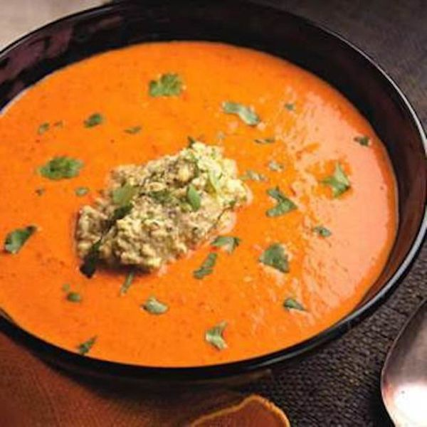"""<strong>Get the <a href=""""http://www.huffingtonpost.com/2011/10/27/paprika--red-pepper-soup_n_1062311.html"""">Paprika & Red Pepp"""