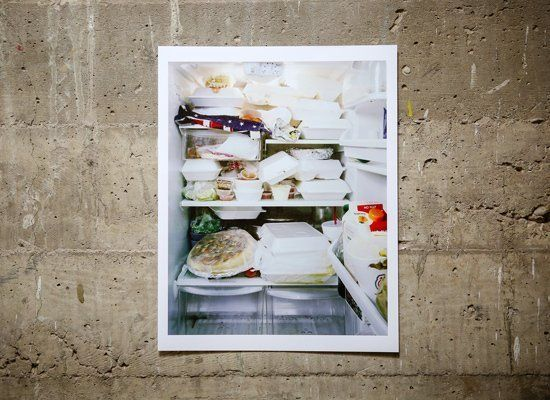 Photographer Mark Menjivar has traveled across the United States, shooting the interiors of other people's refrigerators. Thi