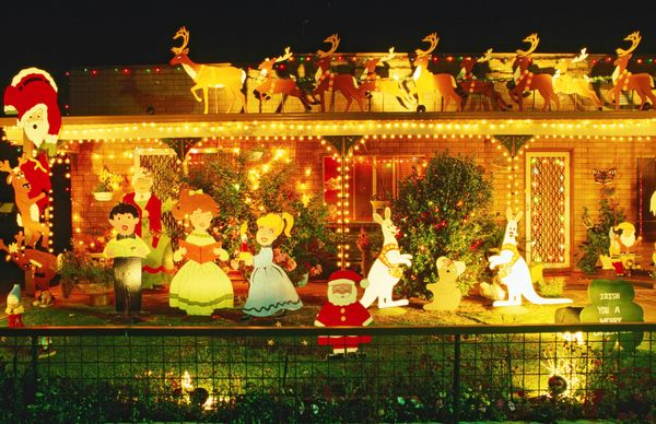 christmas decorations cootamundra new south wales - Over The Top Christmas Decorations