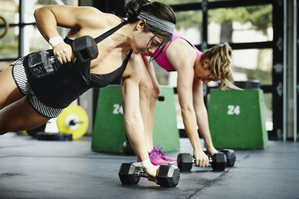 """Working out with a friend allows for a little friendly competition and increased accountability. Choose goals together and g"