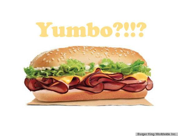"In 1974, the ""Yumbo"" <a href=""https://www.huffpost.com/entry/burger-king-yumbo-mumbo_n_6257312"" target=""_blank"">was retired f"
