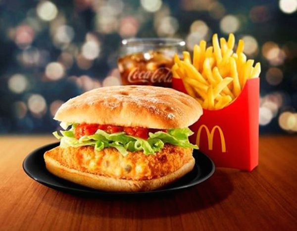 Think for a moment: Where is the last place on earth you'd want to consume a crab sandwich? Yes! The answer is at McDonald's.