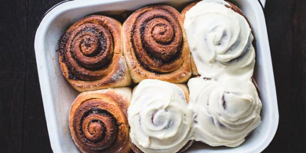 How to Make Frosted Cinnamon Rolls at Home