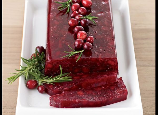 Don't eat the canned jellied cranberries -- make it at home! It's easy, and delicious, with this recipe. The cranberry jellie