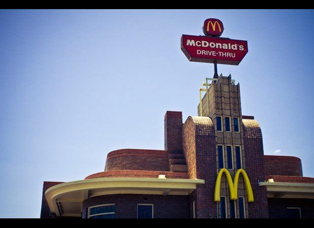 "The Art Deco McDonald's in Clifton Hill, Victoria was once an <a href=""http://www.collingwoodhs.org.au/index.php?p=3_5"" targe"