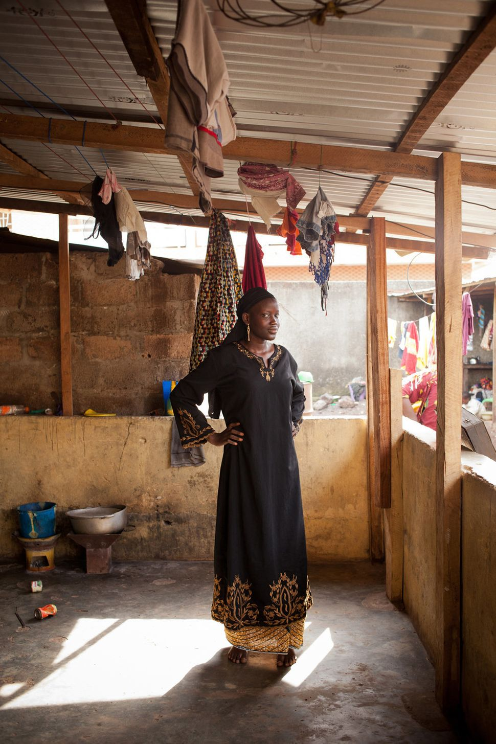"""<strong>Kanta, Conakry</strong> <br> """"Kanta is from a Wahhabi family. Despite her unease and the horrible stigma she suffers,"""
