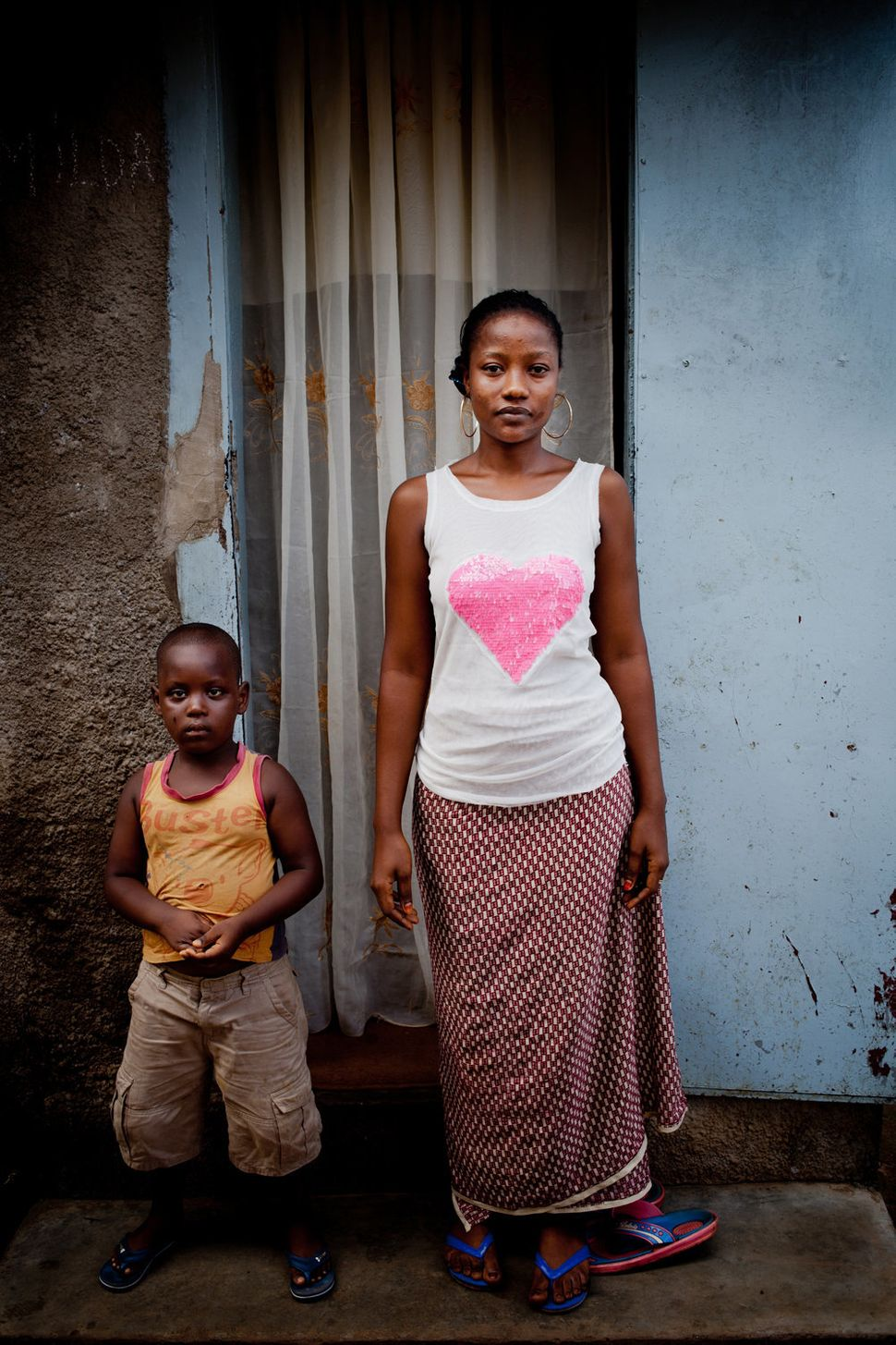 """<strong>Fatoumata Binta</strong> <br> """"Ever since her brother and five members of her family died, Fatoumata Binta has had to"""